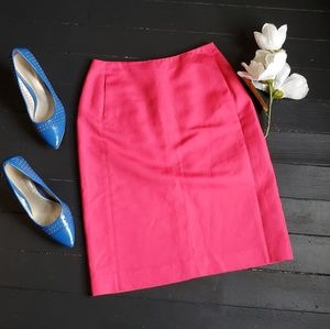 🌸 J.crew 100% cotton Pencil Skirt